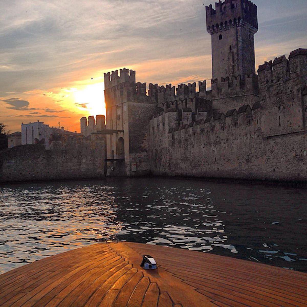 Tramonto Castello Scaligero Sirmione