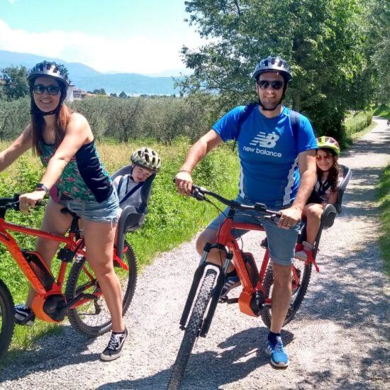 Bike Tour famiglia san felice del Benaco