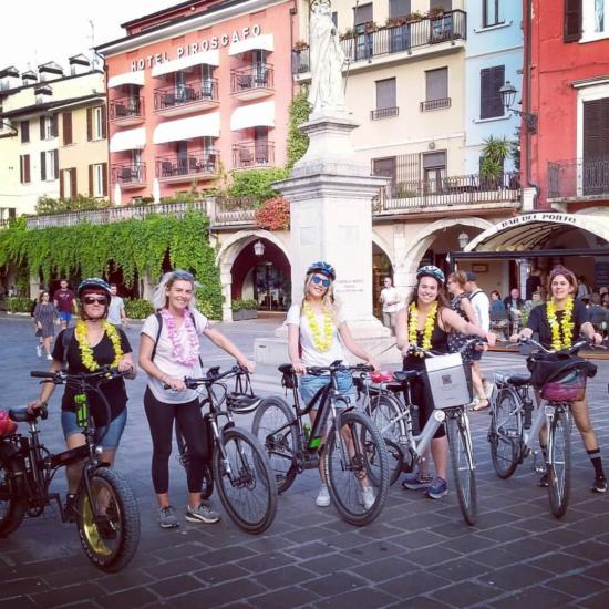 Bike Tour addio al nubilato desenzano