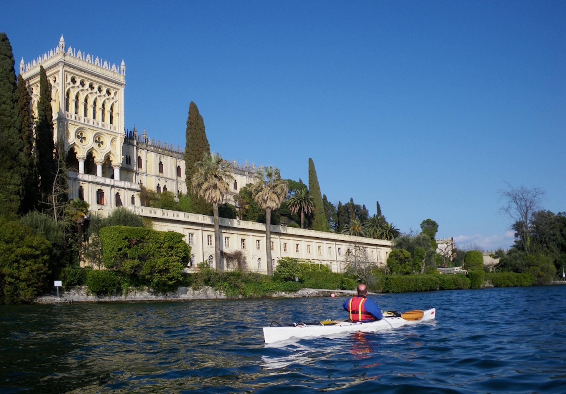 Kayak Isola del Garda