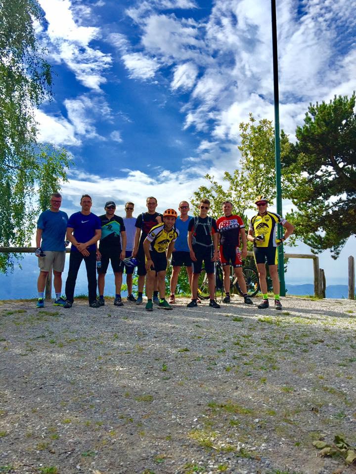Gruppo E-bike tour Tignale