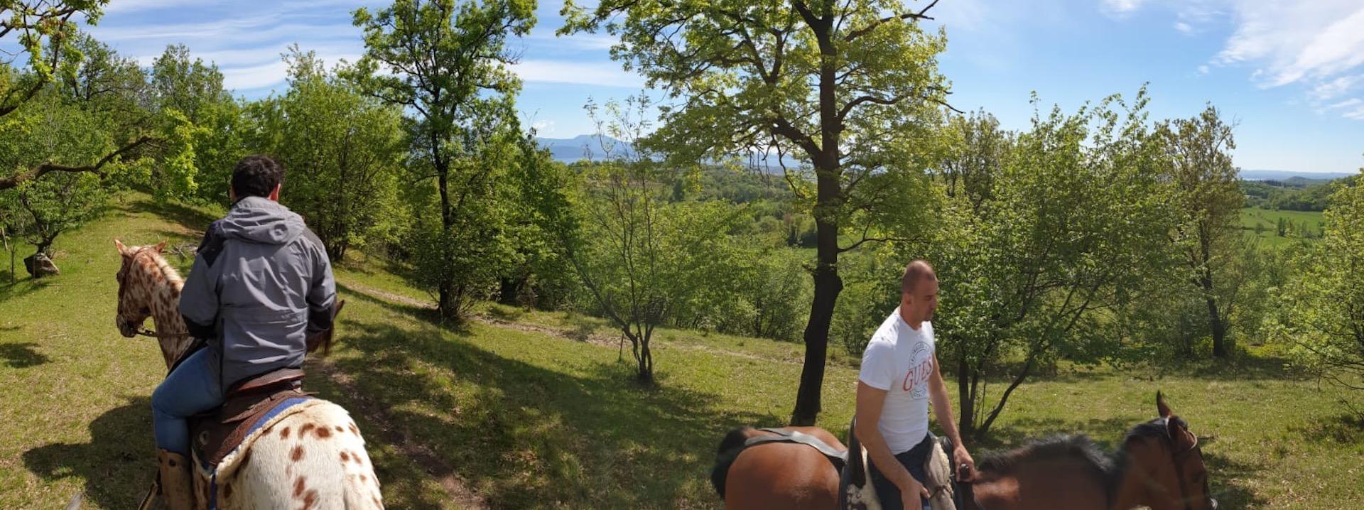 Esperienza a cavallo Valtenesi