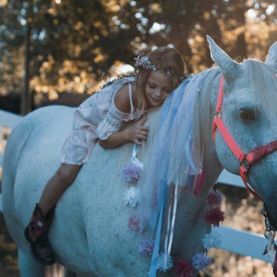 Esperienza a cavallo familglia bambini
