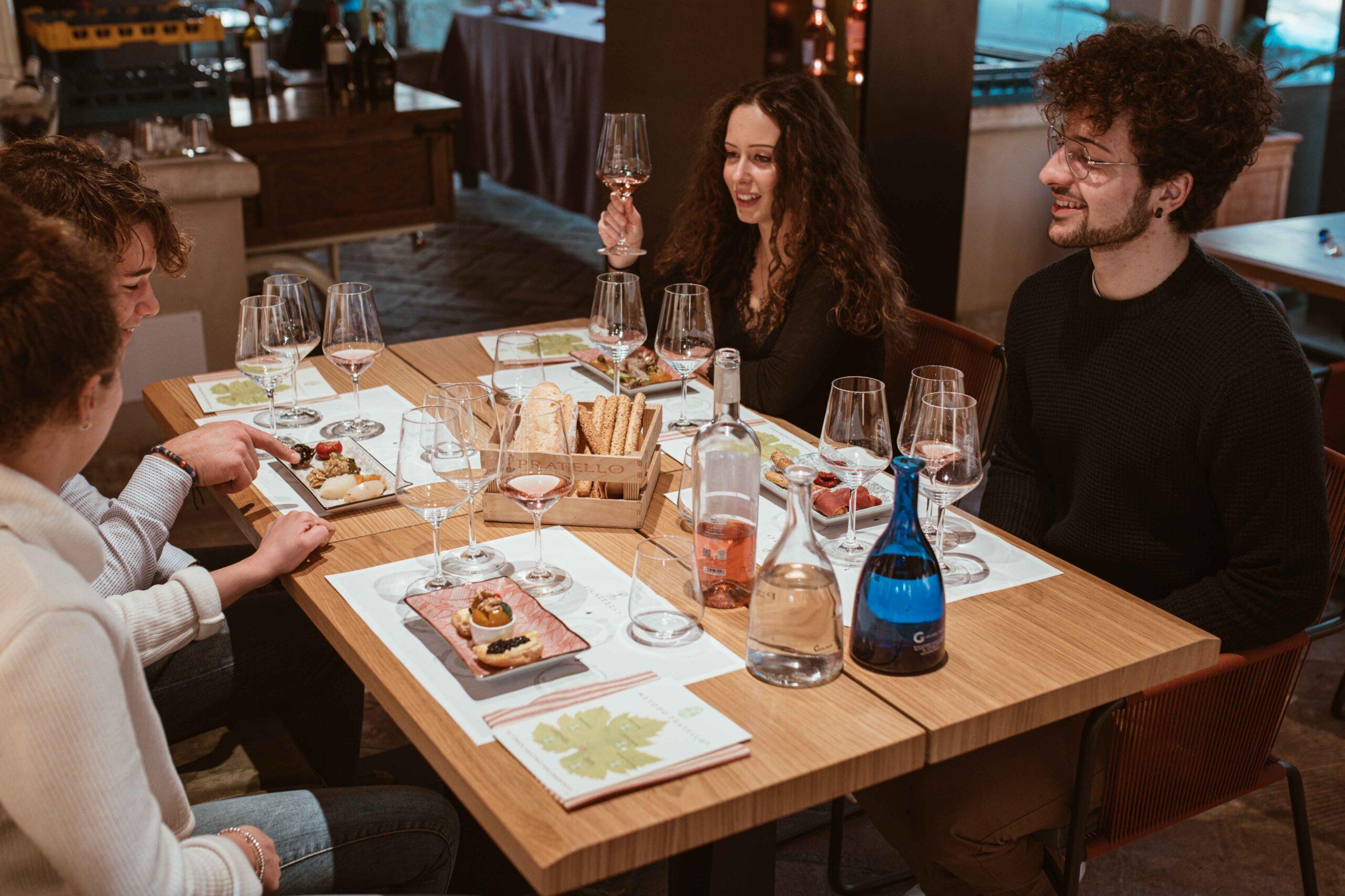 Tavola Degustazione Vini Pratello