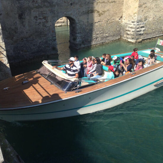 tour in barca Sirmione taxi boat