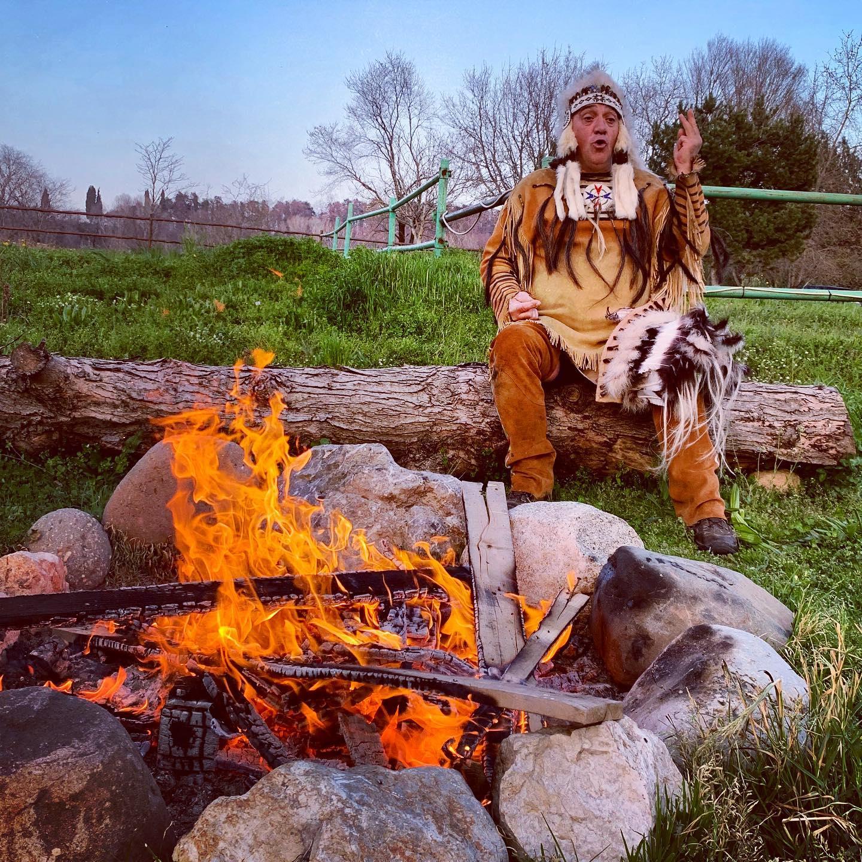 indiano nativo pellerossa
