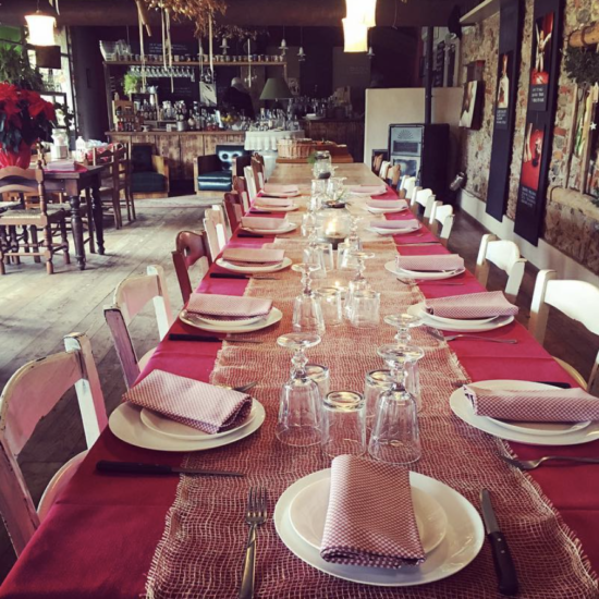 farmhouse lunch - Lake Garda