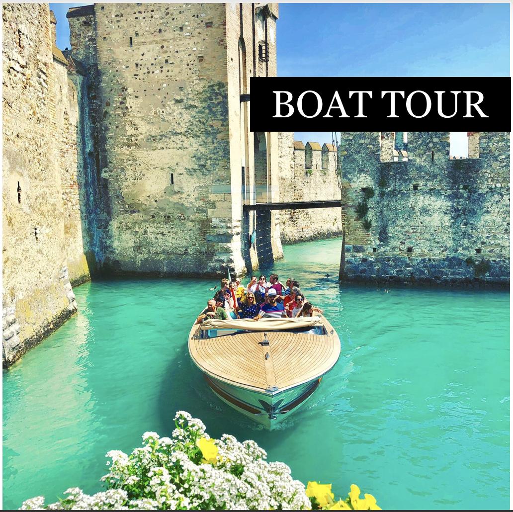 Boat tour - categories - tours shop - Garda E-motion